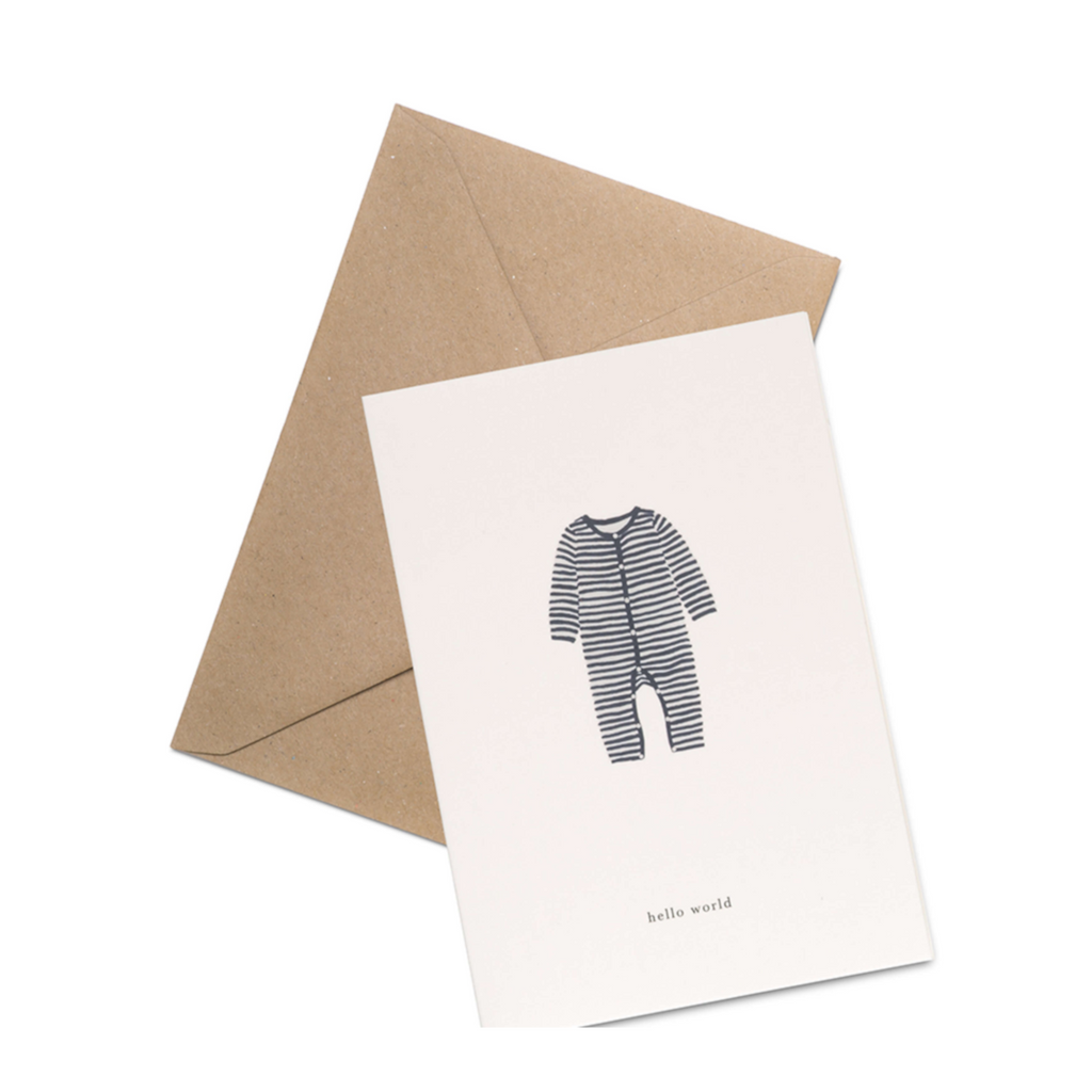 new baby minimalist non gendered card