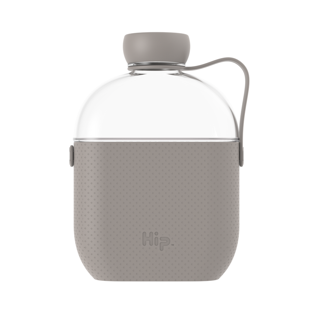 Hip bottle - 22oz/650ml - stone reusable water flask