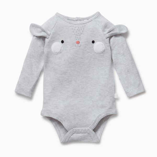 Mori Bamboo and Organic Cotton bunny suit baby sustainable eco clothing  kids children
