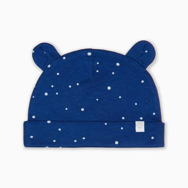 mori bamboo and organic cotton baby bear hat sustainable eco night sky