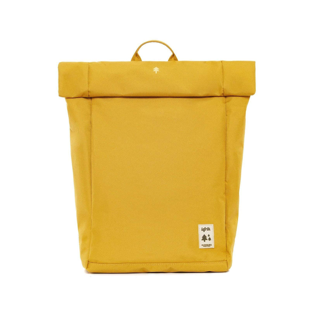 Lefrik Roll Top Backpack rucksack Mustard