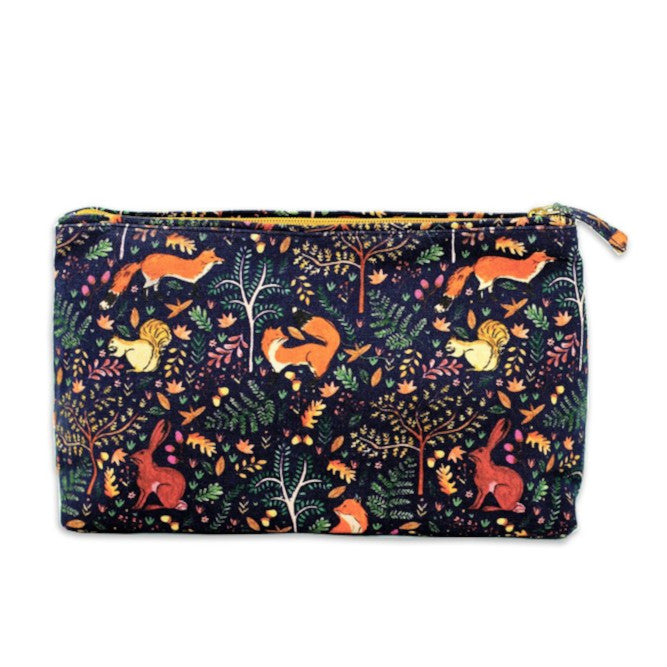 woodland print washbag Lola and Blake