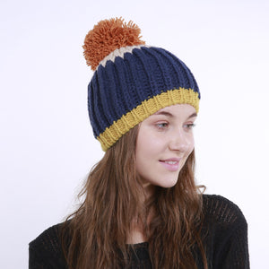 Fashion Winter Colorful Handmade Hat