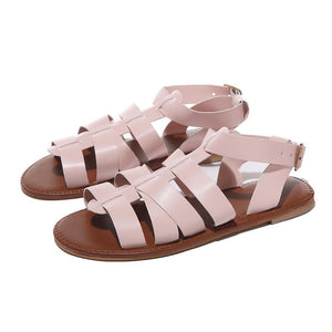 Summer Greek Roman Sandals Beach Open Toe Flat Sandals
