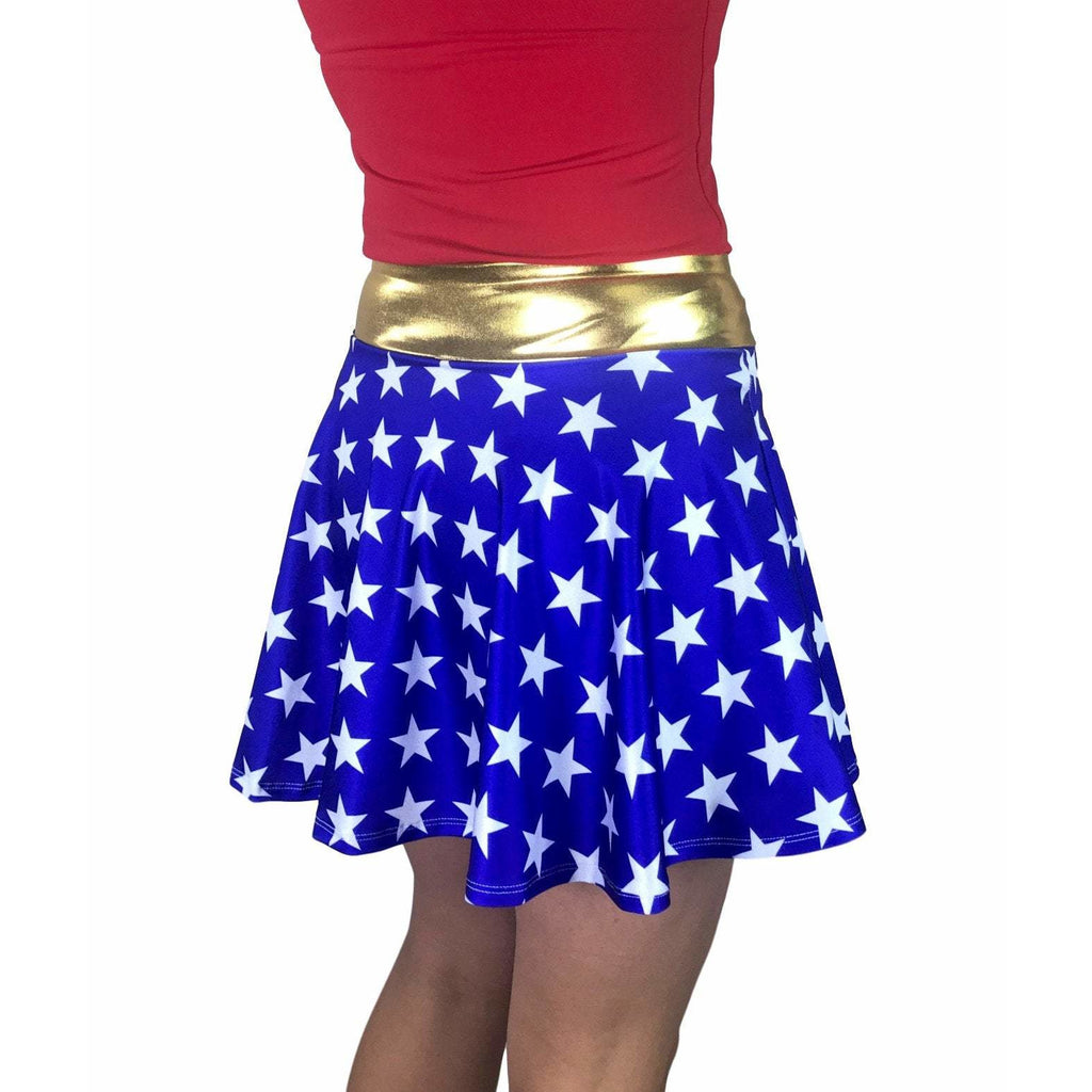 Wonder Woman Athletic Flare Skort - Smash Dandy
