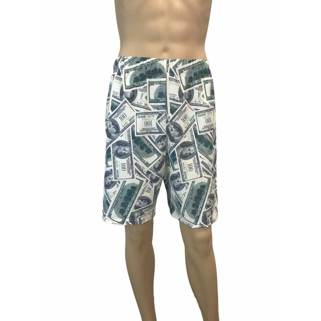 Benjamins Money Basketball Shorts