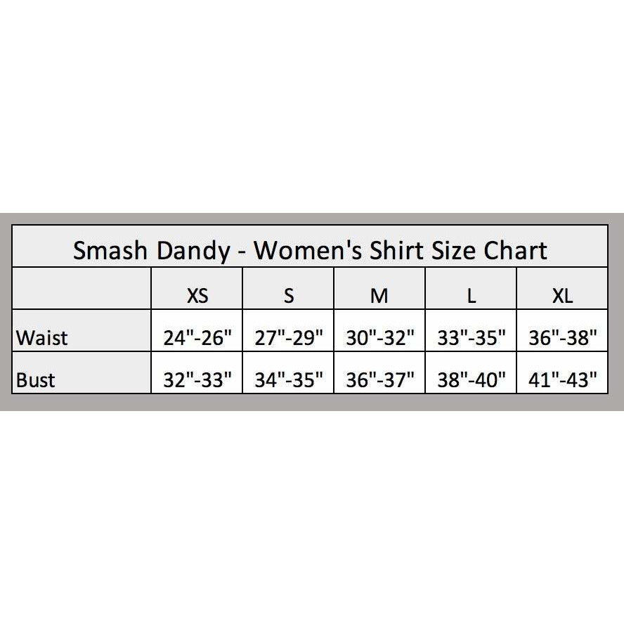Guitar Rock 'n' Roll Women's Athletic Outfit - Running Outfit, Golf Apparel, Tennis Outfit Skirt w/ built in compression shorts - Smash Dandy