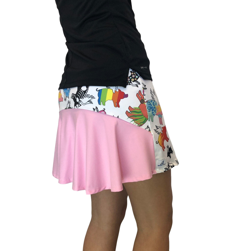Flying Pig Athletic Flutter Skort - Smash Dandy