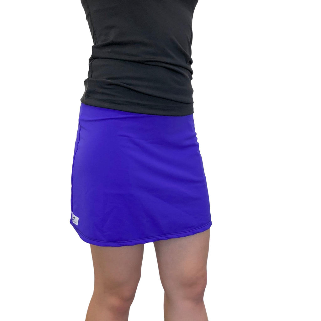 Purple Athletic Slim Skort - Golf Skirt - Smash Dandy