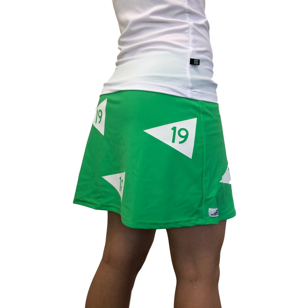 19th Hole Themed Slim Golf Skort - Smash Dandy