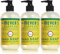 Mrs. Meyer's Clean Day Liquid Hand Soap, Honeysuckle Scent, 12.5 fl oz (3 ct)