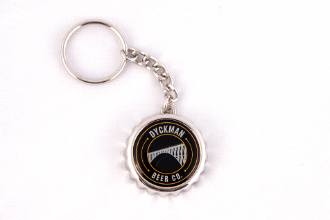 Dyckman Beer Keychain/Bottle Opener