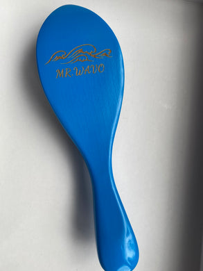 Mr. Wavo Wave Brush- Blue Soft Curve 360 Wave Brush
