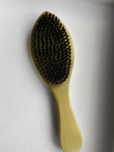 Mr. Wavo Wave Brush- Gold Soft Curve 360 Wave Brush