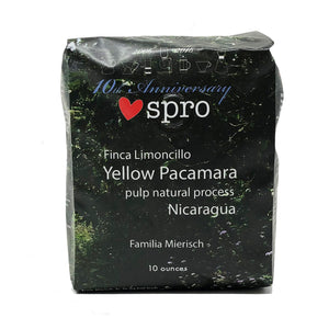 2016 El Limoncillo Yellow Pacamara Pulp Natural