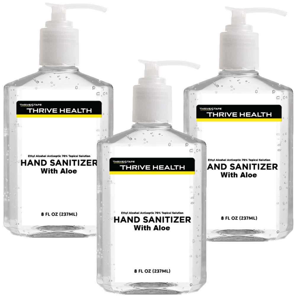 Hand Sanitizers - 8 oz - 3 Pack - Thrive