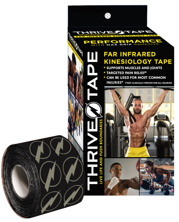 "THRIVE TAPE ""FAR INFRARED"" KINESIOLOGY TAPE ""PERFORMANCE MAX GRIP"" - Thrive ""Far Infrared"" Kinesiology-Kinesio Tape  (thrivetape.com)"
