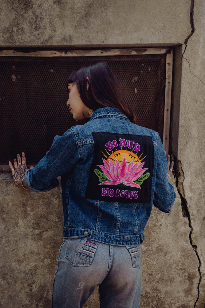 No Mud, No Lotus - Back Patch