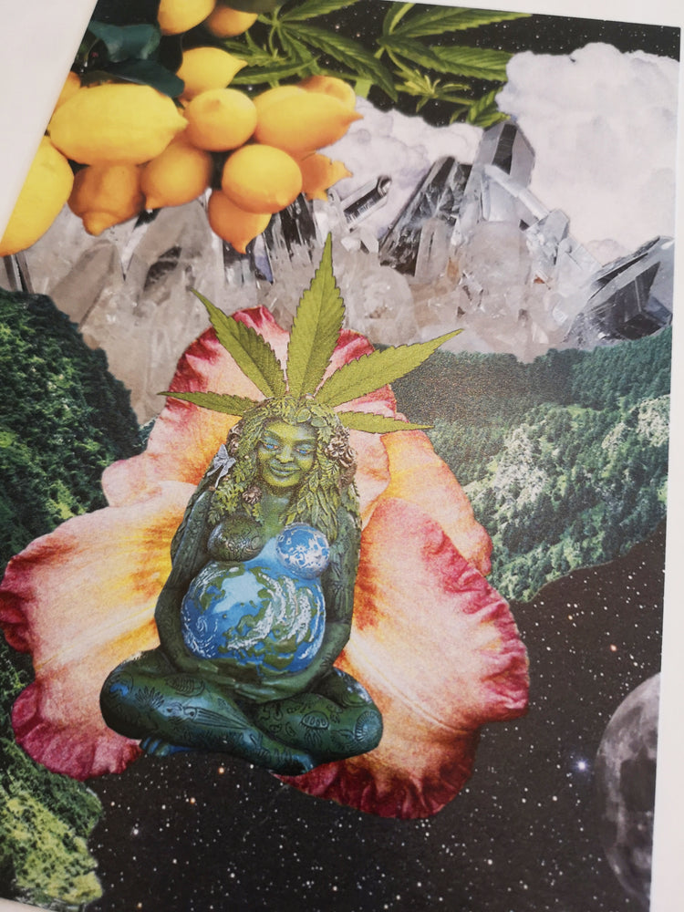 Load image into Gallery viewer, Pachamama Ganja Print
