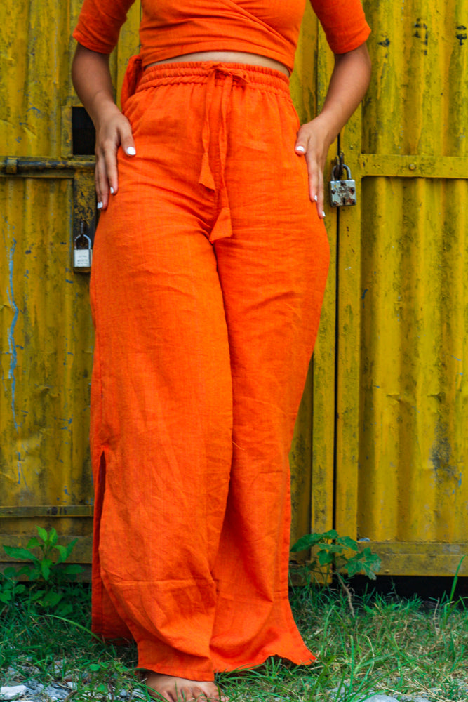 Flared Sunshine Pants