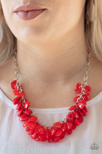 Colorfully Clustered - Red
