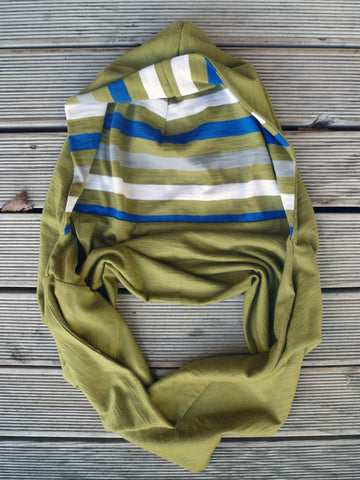 Olive Tree Kid's Hood Scarf