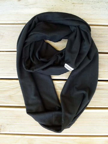 Pitch Black Loop Scarf