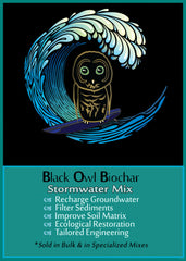 Black Owl Biochar Stormwater Mix