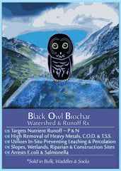 Black Owl Biochar's Watershed and Runoff RX