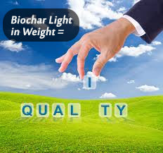 Biochar Light In Weight Equals Quality