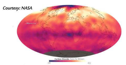 Red Globe - 402 PPM - NASA