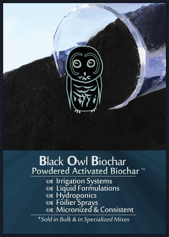 POWDERED BIOCHAR