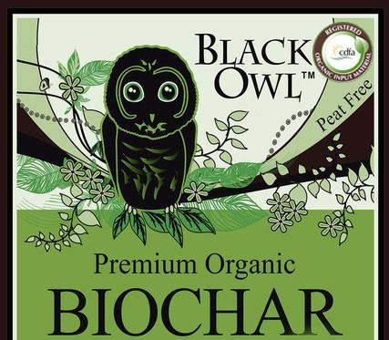 PREMIUM BIOCHAR Certified for Organic Use-FREE SHIPPING on 1 Cubic foot bags