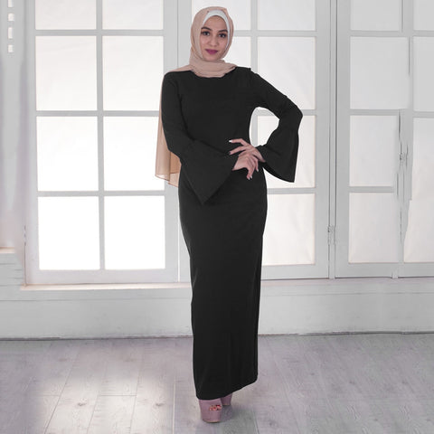 Plain Cotton Abaya