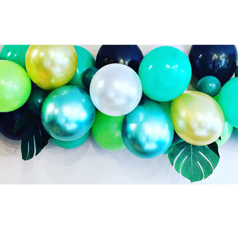 jungle themed balloon garland kit