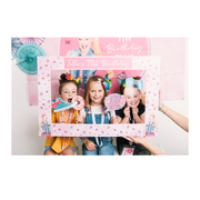 JoJo Siwa themed photobooth frame