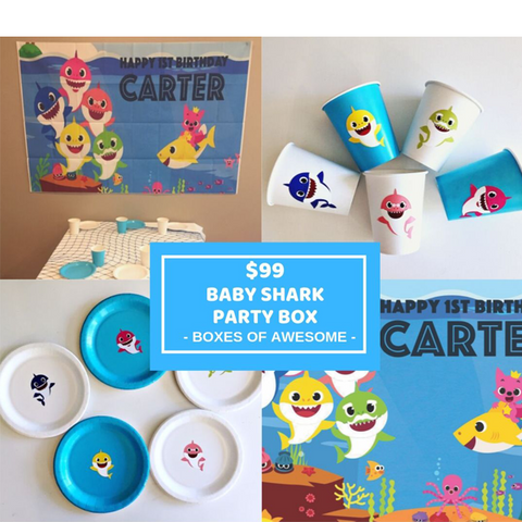 $99 PARTY BOX - BABY SHARK