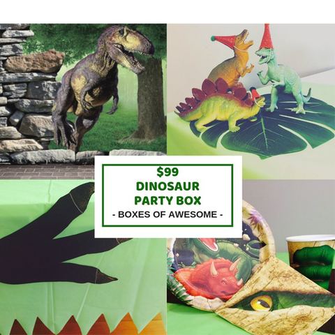 Dinosaur $99 party box