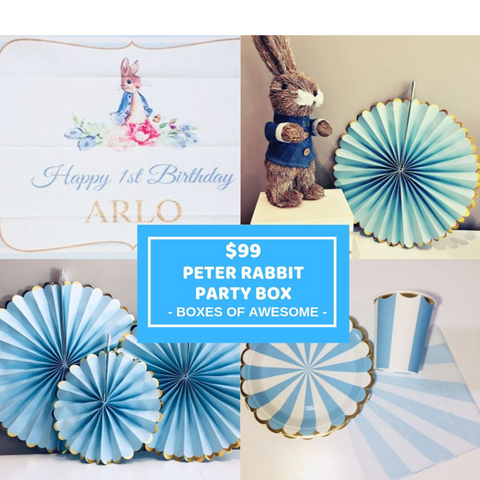 $99 PARTY BOX | PETER RABBIT