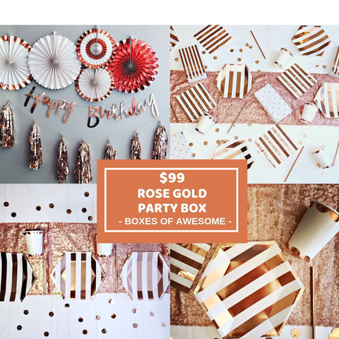 $99 PARTY BOX | ROSE GOLD