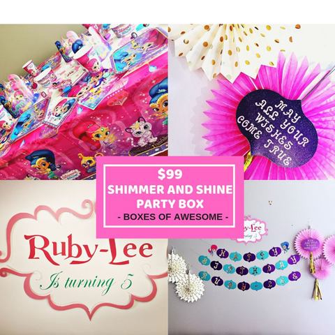 $99 PARTY BOX - SHIMMER AND SHINE