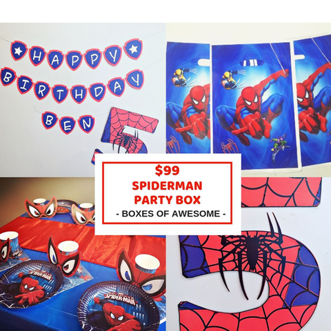 $99 PARTY BOX | SPIDERMAN
