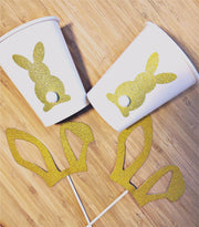 Bunny party tableware