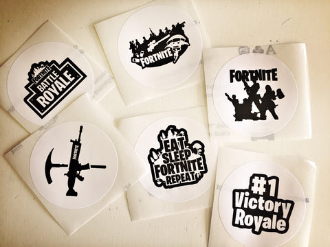 Fortnite party stickers