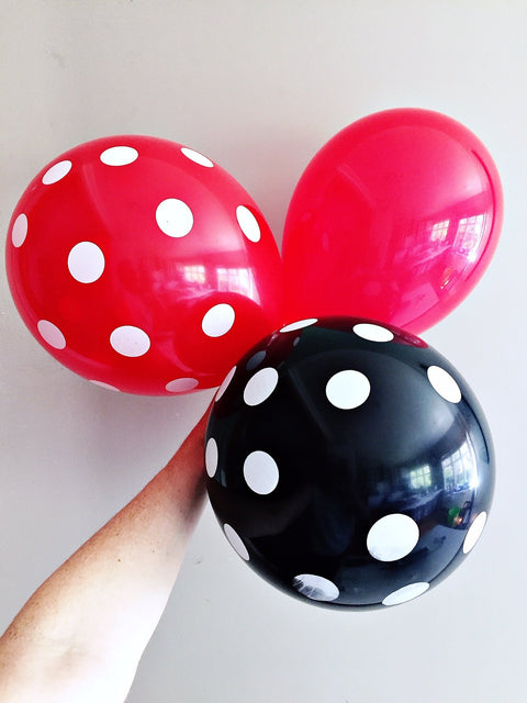 Ladybug and cat noir balloons