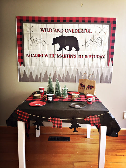 Wild and onederful lumberjack party