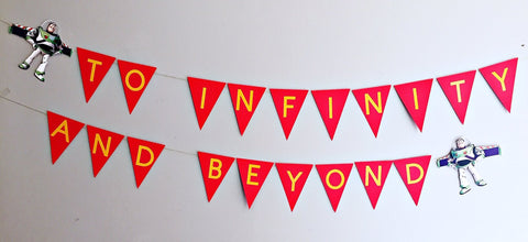 Toy Story personalised bunting