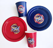 Beyblade personalised tableware