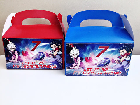 Beyblade personalised gift boxes