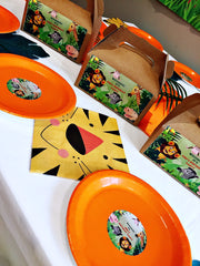 Jungle themed party supplies